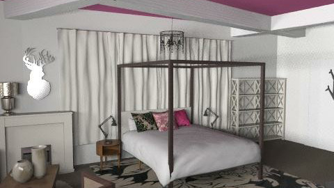 For Lady Gaga - Classic - Bedroom - by toadfool