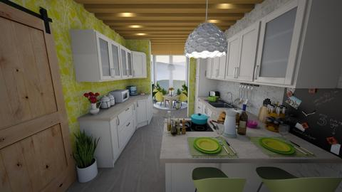 kitchen conservatory - Kitchen - by sunflower123