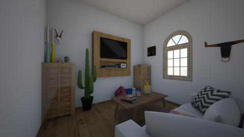 AZ retreat - Living room - by jadebeal