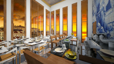 14 restaurant 3º view - by Duarte Morgado