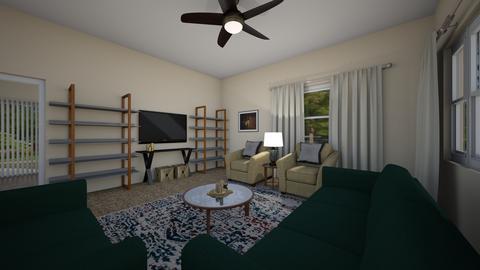 Jasmine - Eclectic - Living room - by hmgrl