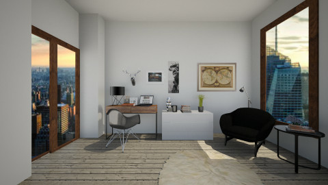 947 - Office - by celavia