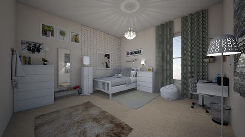 teen room - Bedroom - by lovedae_parfait