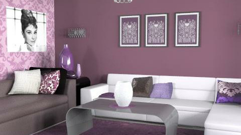 audrey - Glamour - Living room - by Andrea_