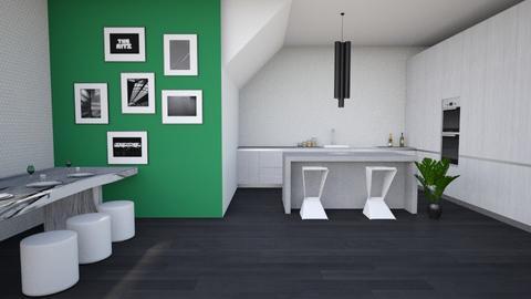 kitchen - Kitchen - by Vampire_Kitty