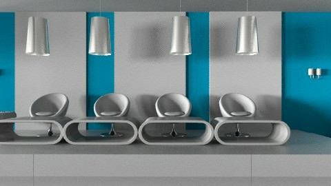 project 1 layout3 showroom - Modern - Office - by monicasabile