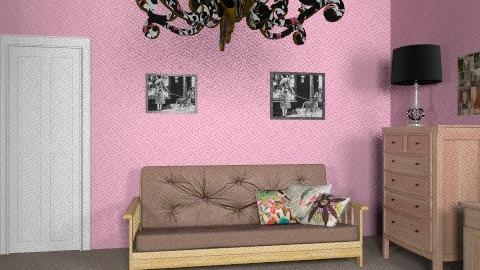 pink room2 - Feminine - Bedroom - by lovegirl1782