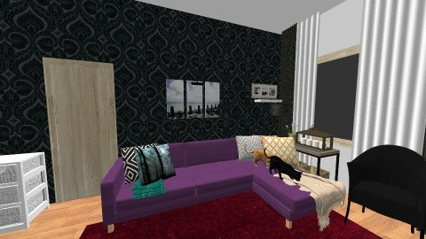 Livingroom 2 - Living room - by julietjones74