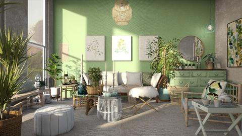 green tea - Rustic - Living room - by jjannnii