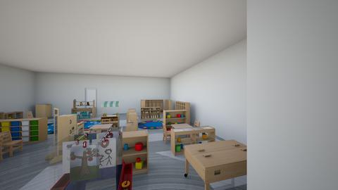 pre k Angel Floor plan  - Kids room - by YBPAKVEUKKHLRYWUUXVNWRVXMGDMFLH