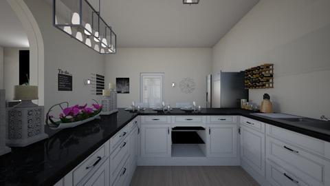 house k6 - Kitchen - by nikolinajadanic
