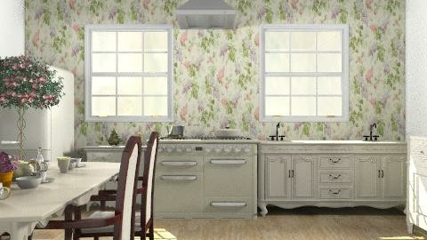 Provenza- kitchen - Rustic - Kitchen - by Phoebe Ficer