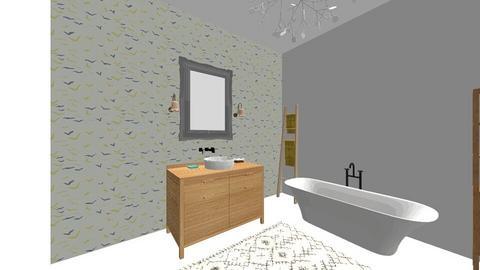 Nautical bathroom - Bathroom - by noira