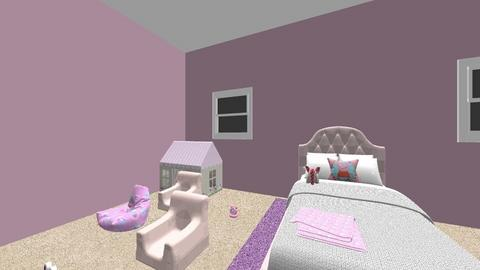 baby girl - Kids room - by evelin101