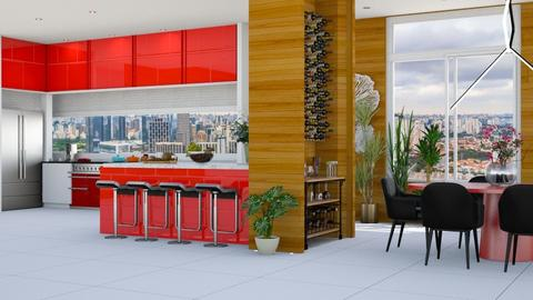 Kitchen Bar - Kitchen - by Aymee Estrella
