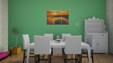 Soba za rucanje  - Dining room - by milicamima12345