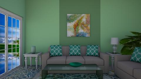 Green home - Living room - by Ana Angela