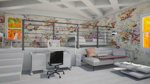 room - Glamour - Bedroom - by Karine Hakobayan