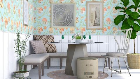 Lil Dining Corner - Classic - Dining room - by millerfam