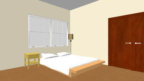 College Student's First Apartment (Bedroom) - Bedroom - by tayloriginal