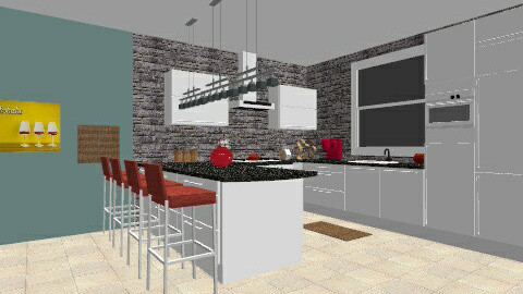 kitchen family room - by crobinson325