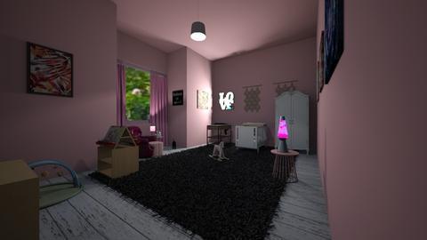 Lullaby - Feminine - Kids room - by MangaandCatManiac