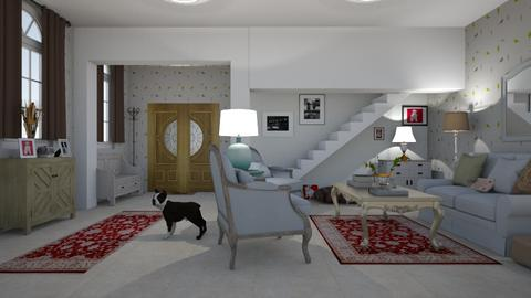 Dog Lovers Parlour - Living room - by abbyt94