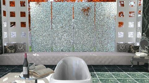 Black Water Elegance - Glamour - Bathroom - by giulygi