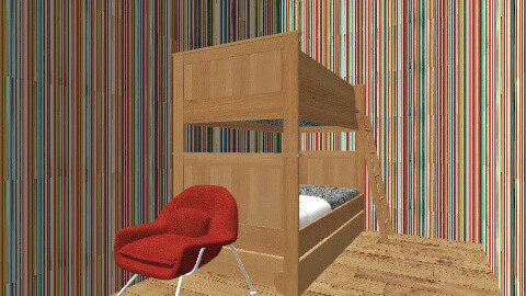 Bedroom - Retro - Bedroom - by armsc