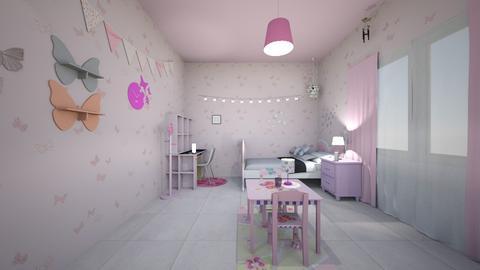 bt  - Kids room - by LeiRech