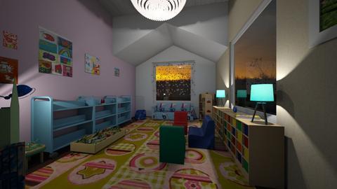 kids room night 1 - Kids room - by MrNensur