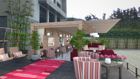 Outdoor Lounge - Country - Garden - by Joao M Palla