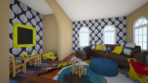 Playful Space - Living room - by Brigid123