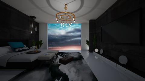 Jimins Bedroom - Modern - Bedroom - by FabulousGirl35