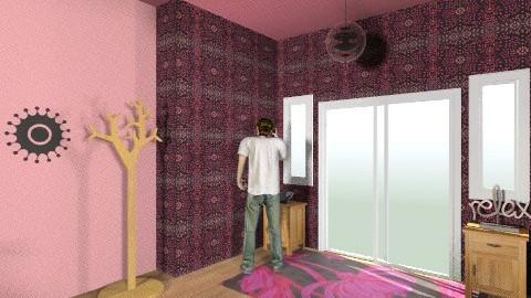 Chill front door - Modern - Living room - by BlondeGoode