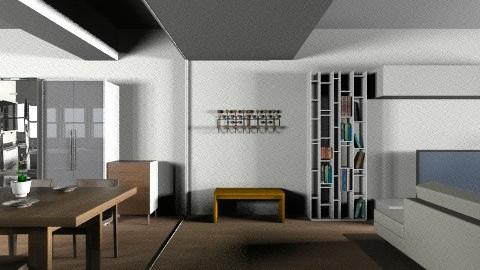 salon POSIBILIDAD techo b - Living room - by parrastaka