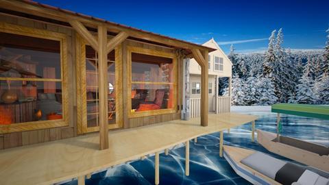 lake home - Garden - by snjeskasmjeska