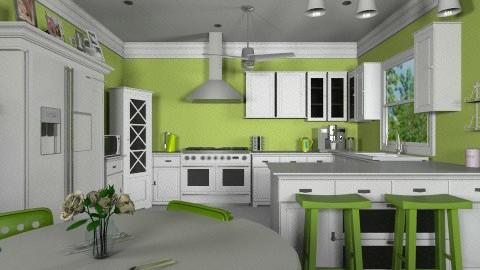 Granny Smith - Classic - Kitchen - by Yoshi Yogataga