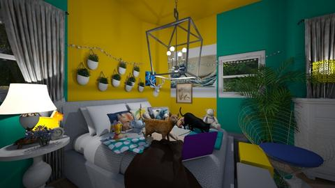 Friends room - Bedroom - by HIHELLOHI