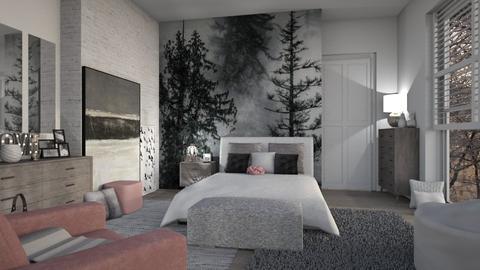 bedroom mural - by Senia N