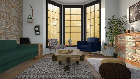 eclectic living - Living room - by miadesign