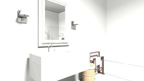 BANHEIRO SOCIAL - Rustic - Bathroom - by marcelarruda