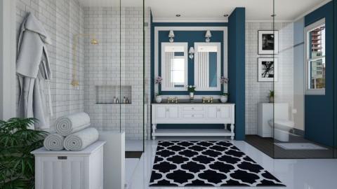 Bathroom V1 - Glamour - Bathroom - by Ejad Shukri