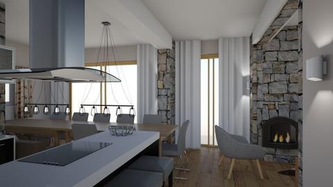 Krimml - Living room - by Martineschreur