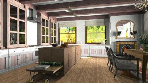 French Kitchen - Country - Kitchen - by Baustin