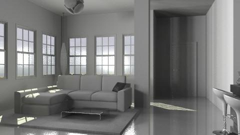 white loft 1 - Modern - Living room - by monicasabile