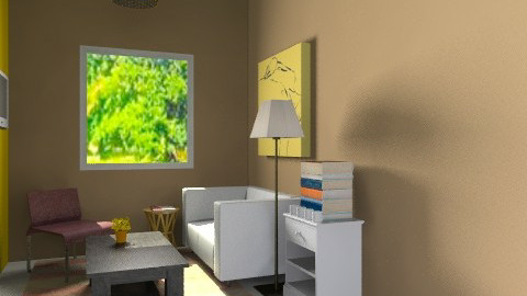 Room yellowdecor - Rustic - Garden - by sahfs
