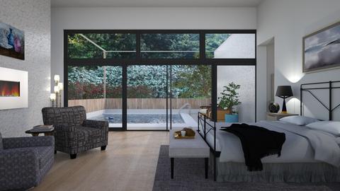 Electric_Bedroom - Bedroom - by RaeCam
