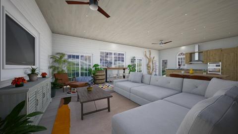 lvro - Living room - by dena15