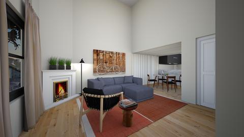 SYLD77kt - Living room - by evakarwowska